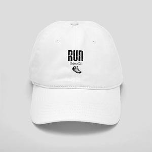 run hebrews Baseball Cap