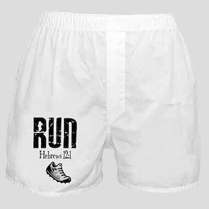 run hebrews Boxer Shorts