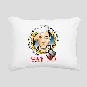Salty Dog Rectangular Canvas Pillow