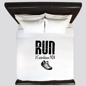 run fixed King Duvet