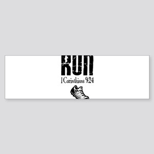 run fixed Bumper Sticker