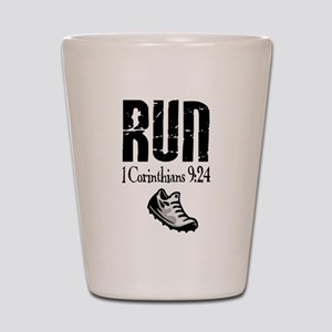 run fixed Shot Glass