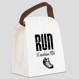 run fixed Canvas Lunch Bag