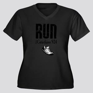 run fixed Plus Size T-Shirt