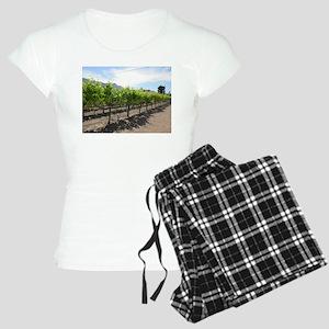 Winery in California Women's Light Pajamas