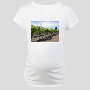 Winery in California Maternity T-Shirt