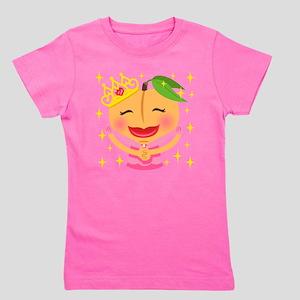 Emoji Peach Princess Girl's Tee