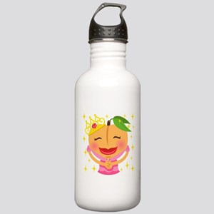 Emoji Peach Princess Stainless Water Bottle 1.0L