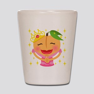 Emoji Peach Princess Shot Glass