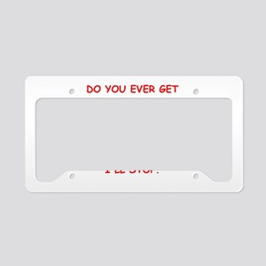 peeping tom License Plate Holder