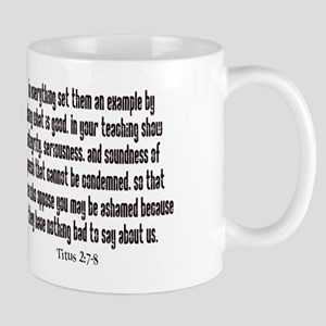 teach titus 2 mug Mug