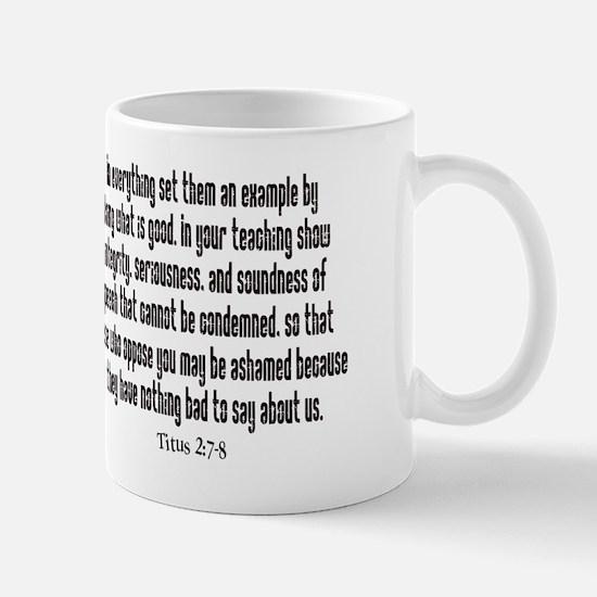 teach titus 2 mug.png Mug