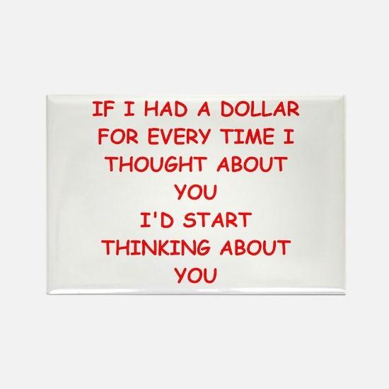 dollar Rectangle Magnet