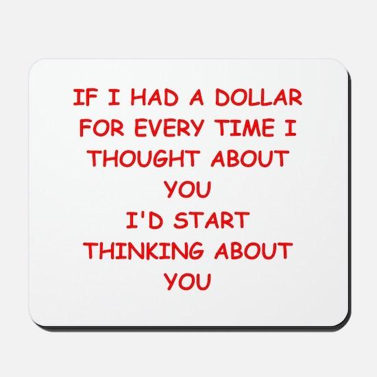 dollar Mousepad