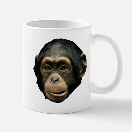 Chimp Face Mug