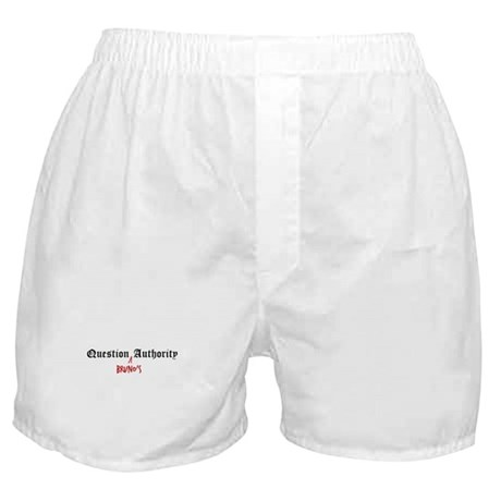 Question Bruno Authority Boxer Shorts