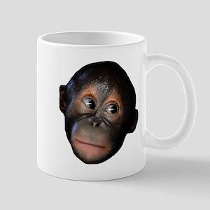 Baby Orangutan Face Mug