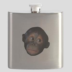 Baby Orangutan Face Flask
