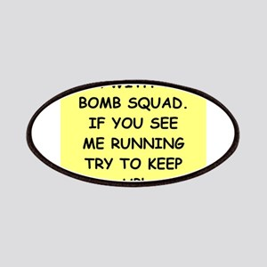 bomb squad Patches