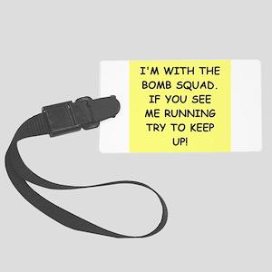 bomb squad Luggage Tag