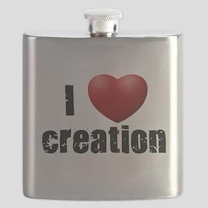 I Love Creation Flask