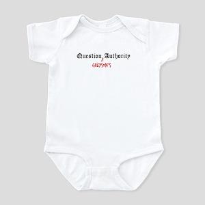 Question Greyson Authority Infant Bodysuit