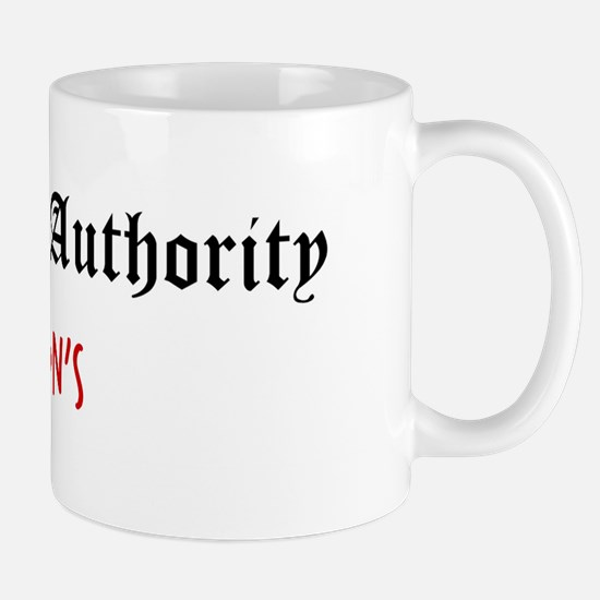 Question Greyson Authority Mug