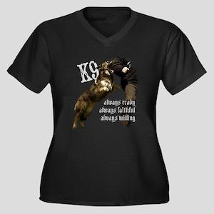 K9 Always ready Plus Size T-Shirt