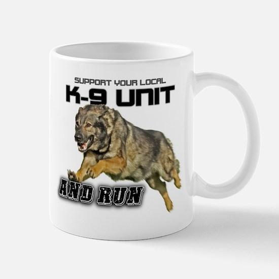 Support you local K9 Unit Mug
