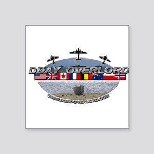 DDay-Overlord.com Sticker
