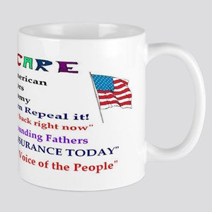 Obama Care and Americans Mug