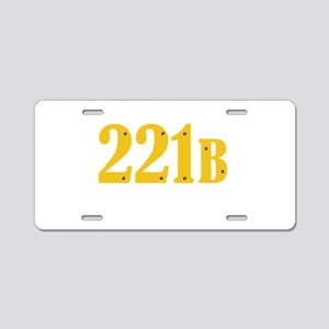221B Aluminum License Plate