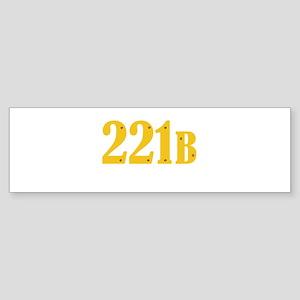221B Bumper Sticker