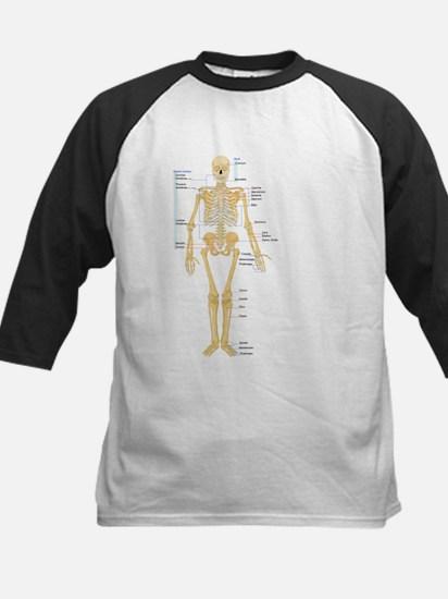 Skeleton chart Baseball Jersey