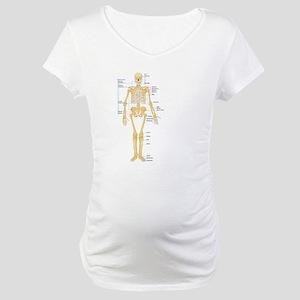 Skeleton chart Maternity T-Shirt