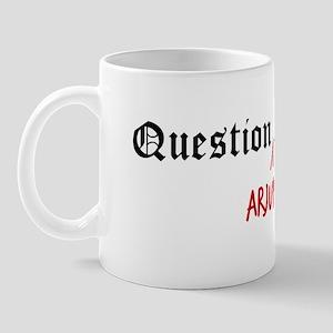 Question Arjun Authority Mug