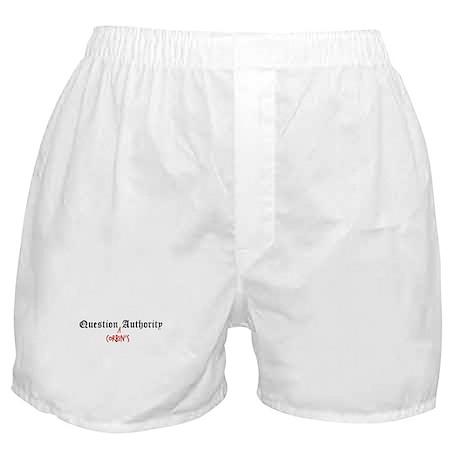 Question Corbin Authority Boxer Shorts