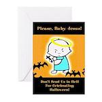 Baby Jesus Halloween Cards (Pack of 6)