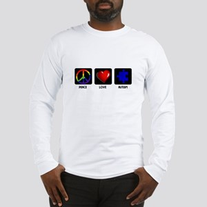 Peace Love Autism Long Sleeve T-Shirt