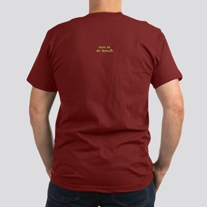 Layla Pearl on back Men's Fitted T-Shirt