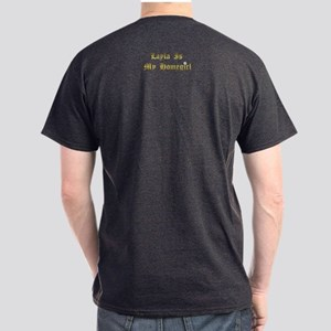 Layla Pearl on back Standard Fit T-Shirt