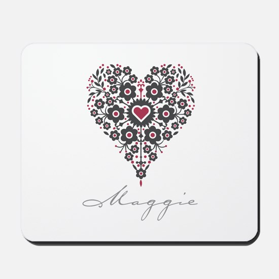 Love Maggie Mousepad