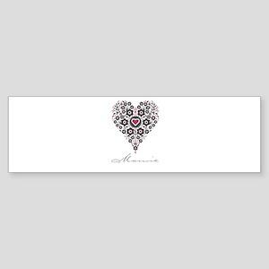 Love Mamie Bumper Sticker