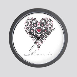Love Mamie Wall Clock