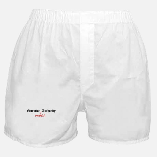 Question Dominick Authority Boxer Shorts