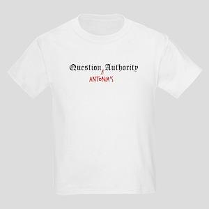 Question Antonia Authority Kids T-Shirt