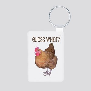 Guess What Chicken Butt Keychain