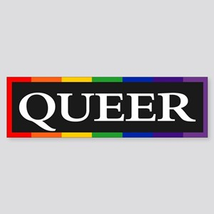 QUEER Bumper Sticker