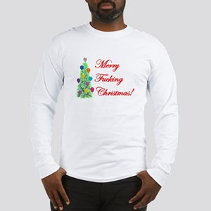 Adult Christmas Long Sleeve T-Shirt