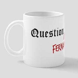 Question Fernando Authority Mug